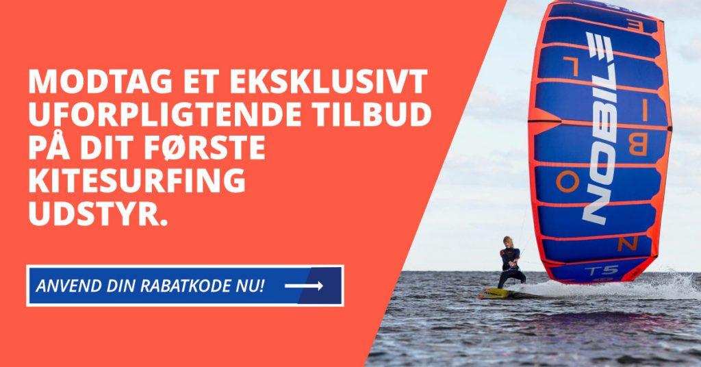 Modtag et uforpligtende tilbud på kitesurfing udstyr fra Boardsupply.dk