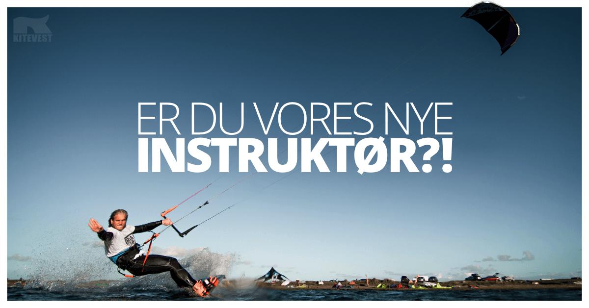 Job opslag kitesurfing instruktør i Danmark
